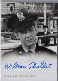 Twilight Zone: William Schallert [Autograph]