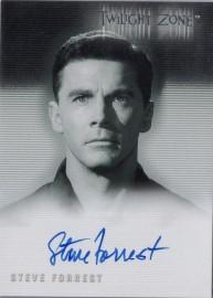 Twilight Zone: Steve Forrest [Autograph]