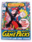 "Nintendo ""GamePacks"" Wax Box (1989 Topps)"