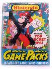 """Nintendo """"GamePacks"""" Wax Box (1989 Topps)"""